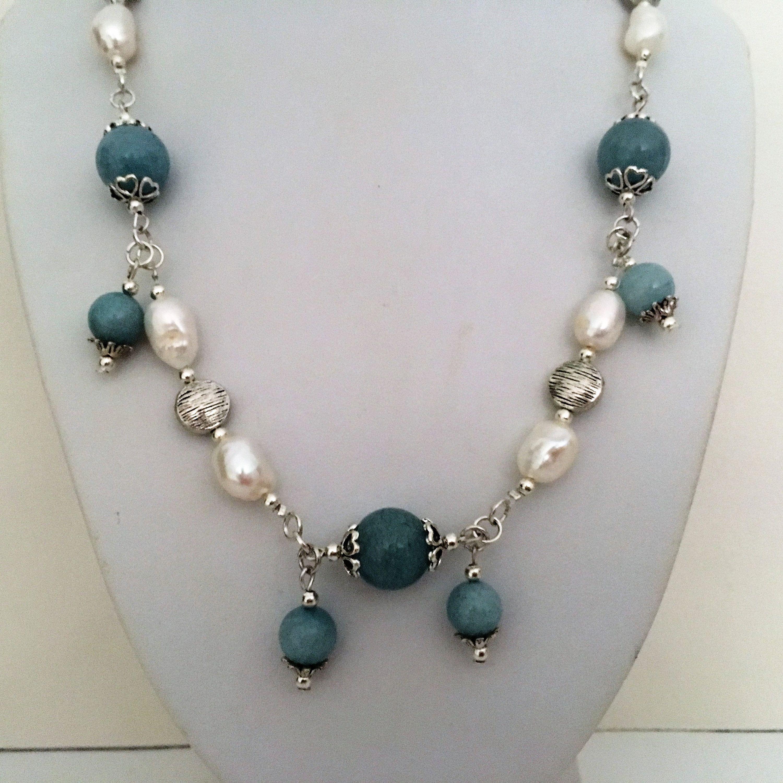 collier perle marine