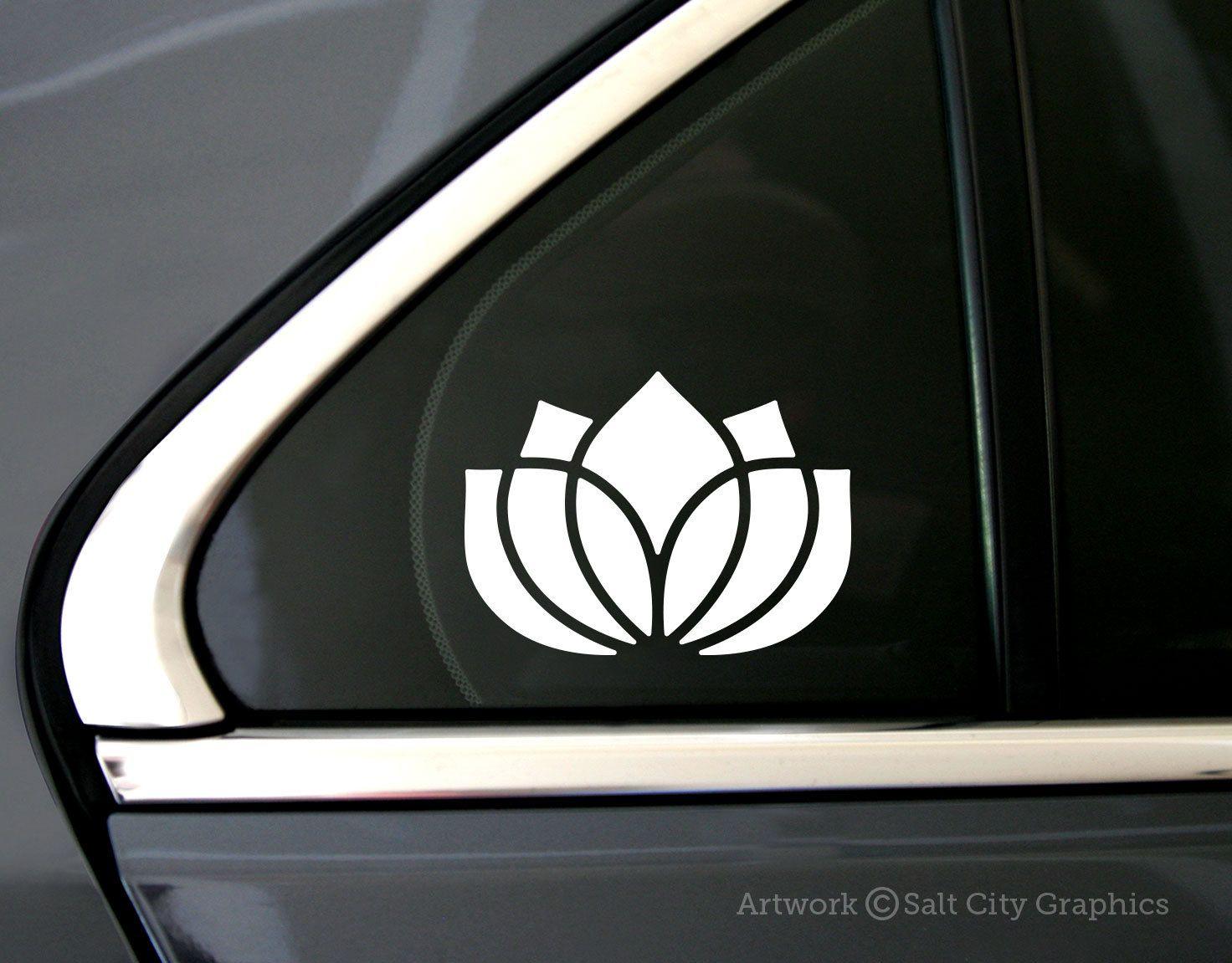 Lotus Flower Sticker Lotus Flower Decal Yoga Symbol Etsy Car Decals Vinyl Bumper Stickers Car Accessories [ 1151 x 1472 Pixel ]