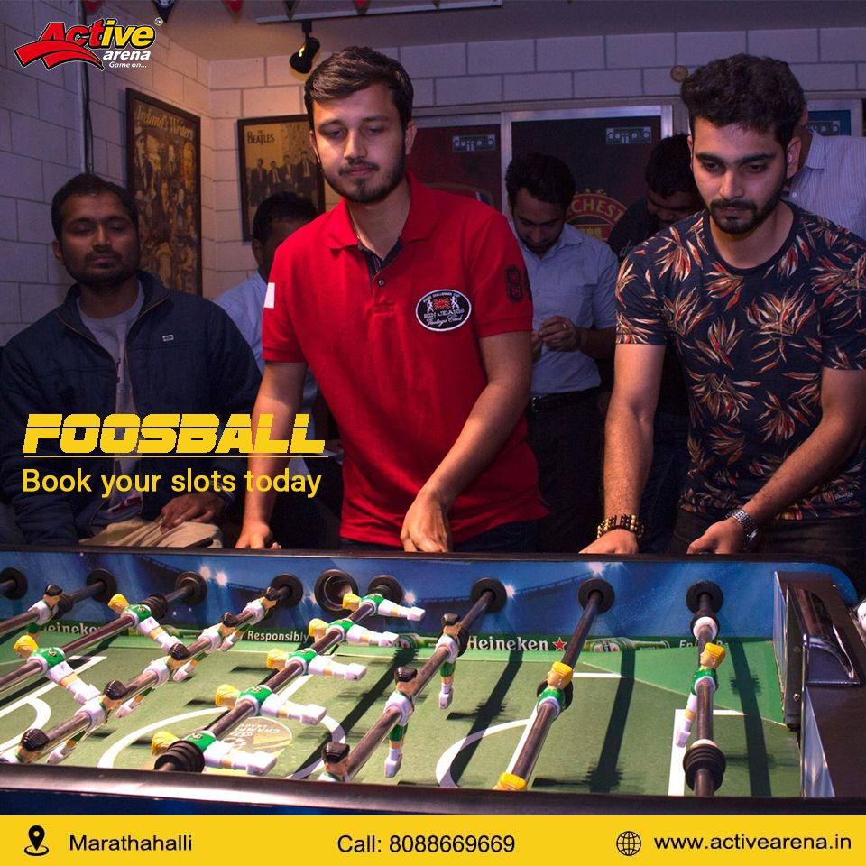 We you to come and enjoy the classic table soccer