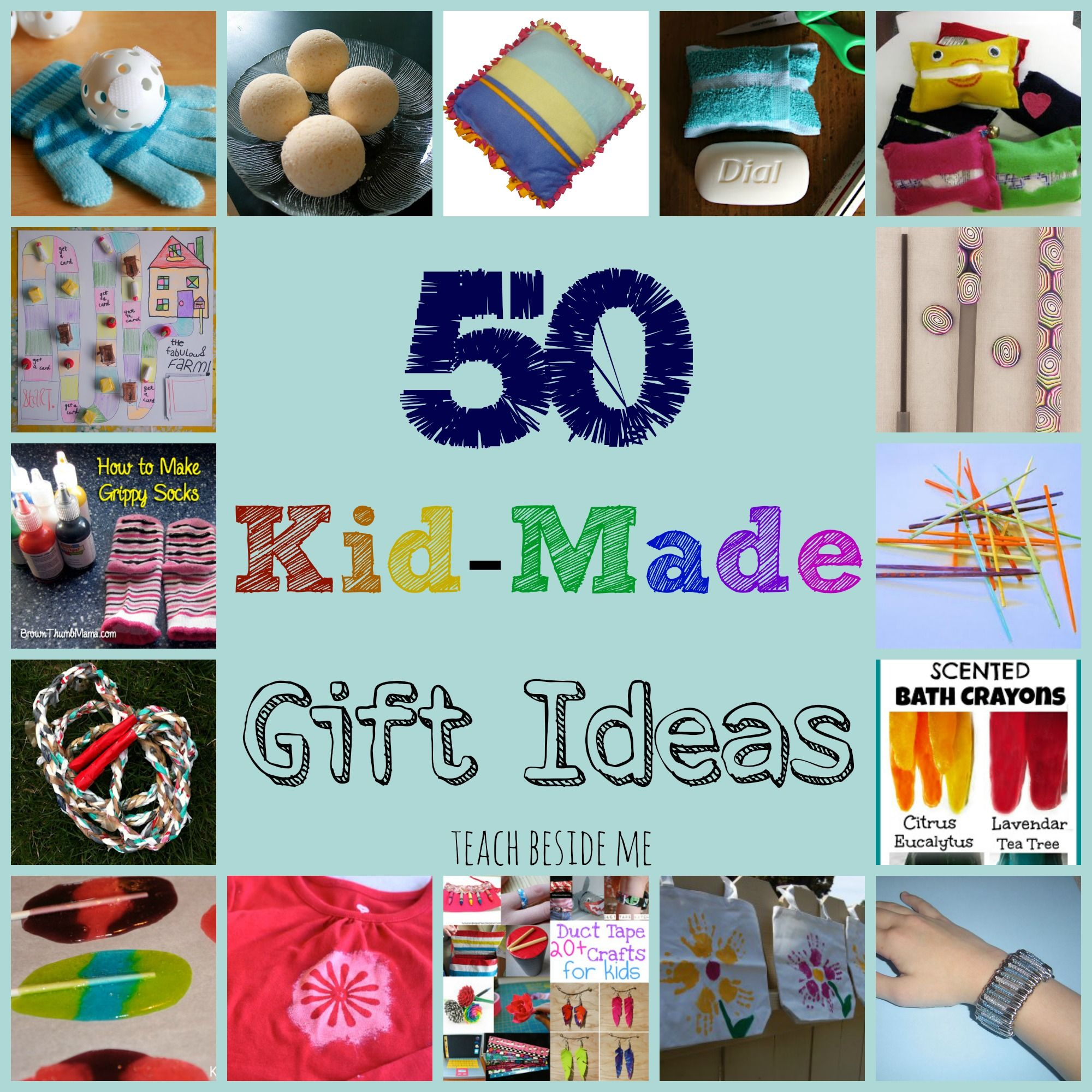 KidMade Gift Ideas for Family Christmas gifts for