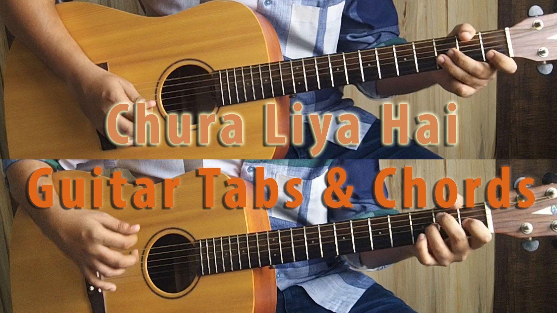 Chura Liya Hai Tumne Jo Dil Ko Acoustic Guitar Lessontutorial