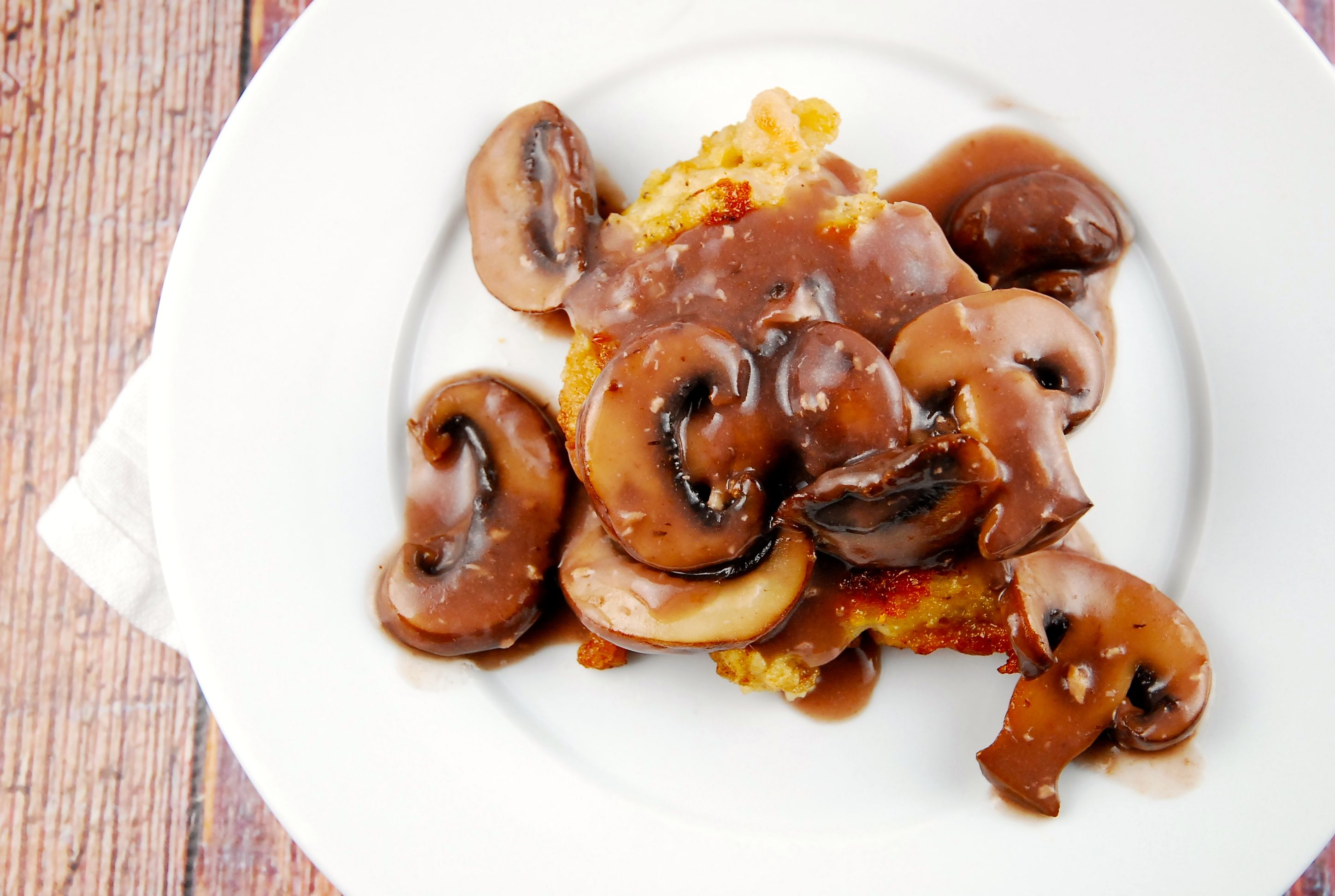 Chicken and mushrooms with red wine sauce 7 points forumfinder Image collections