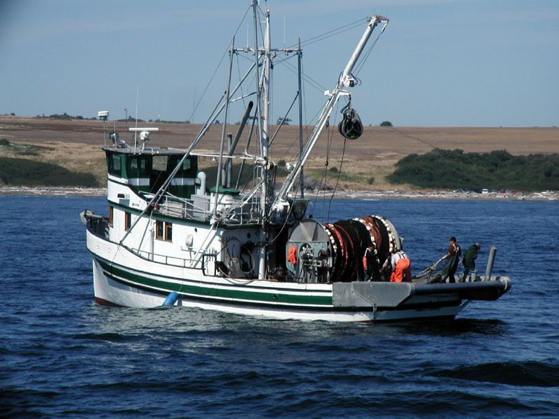 Fishing boat with purse seine the last frontier for Purse seine fishing