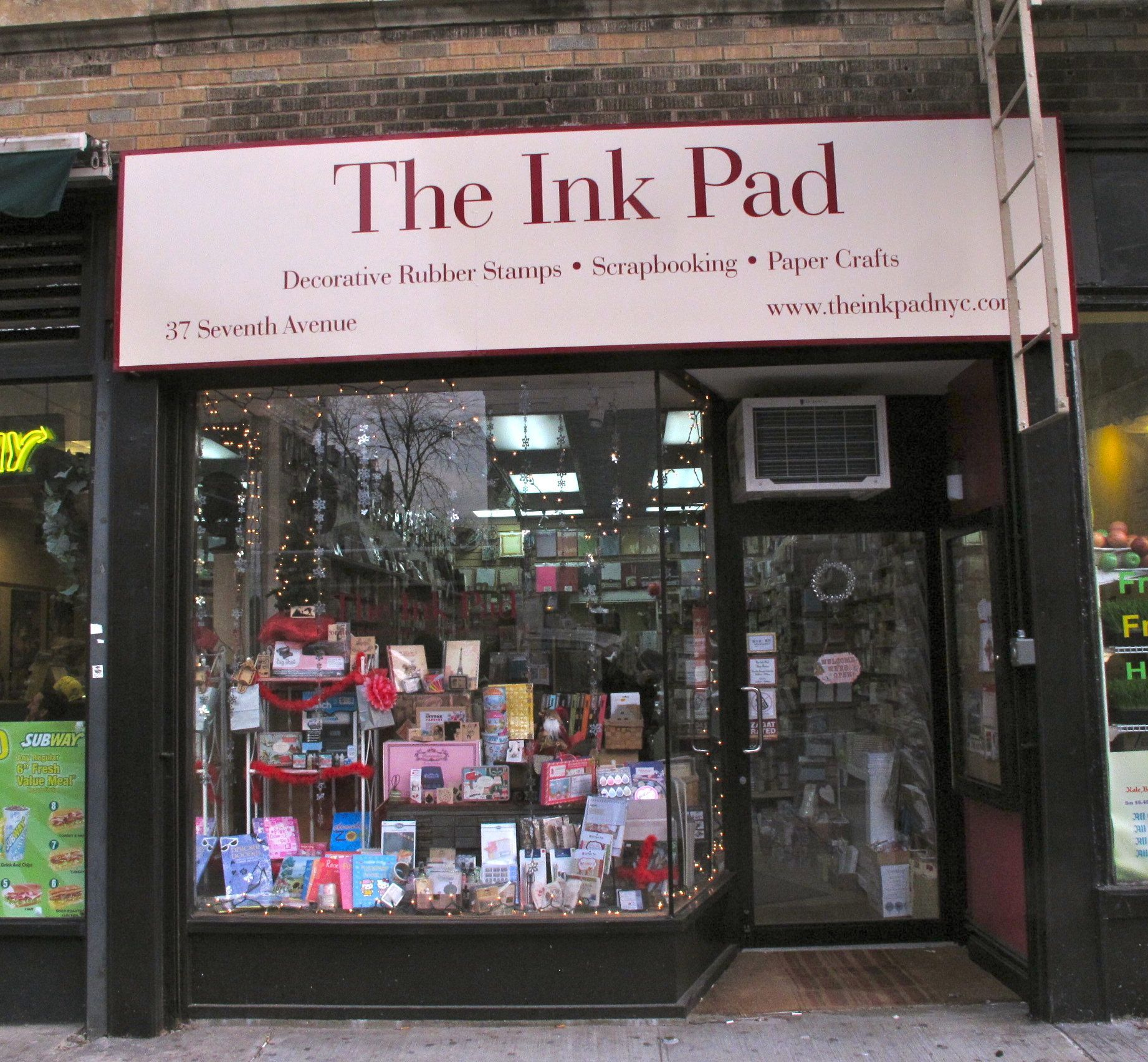 The Ink Pad 37 7th Avenue NYC