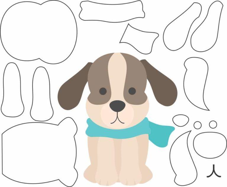 patrones para hacer perros de fieltro06 | naj obrázky