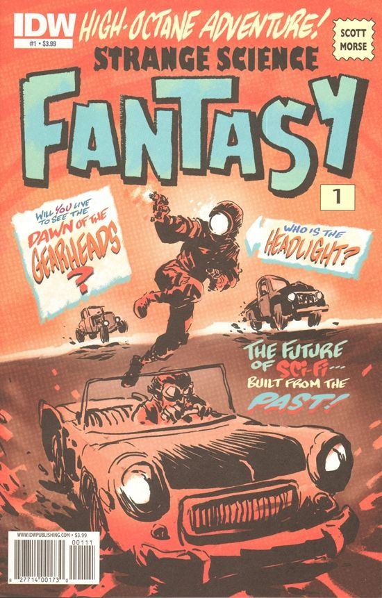 Strange Science Fantasy Comic # 1 Publisher: IDW Comics Date: July 2010 Condition: NM/MT  Description: Will you live to see the Dawn Of The Gearheads? The Furure Of Sci-Fi Built From The Past!