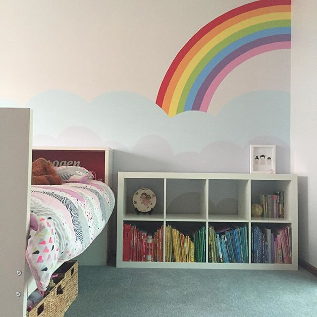 Rainbow Kids Room: And The Great Paint Of 2016 Is Over!!! Now To Put