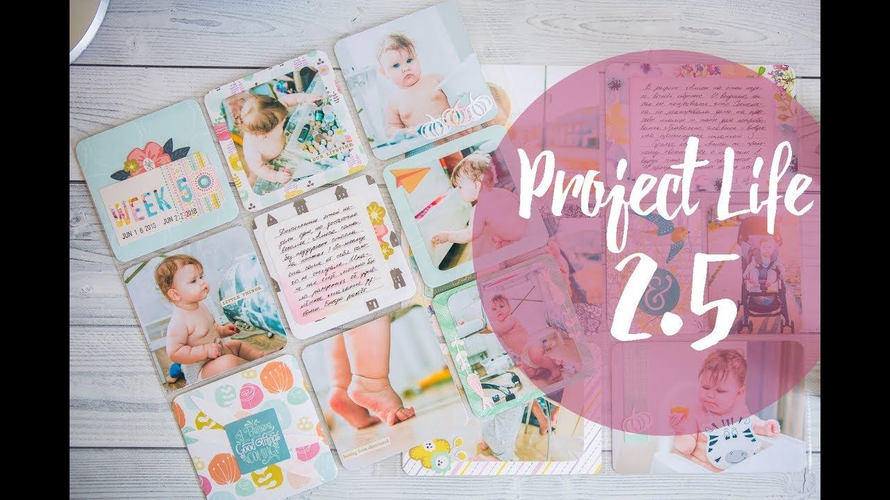 Project Life 2 5 Ideas
