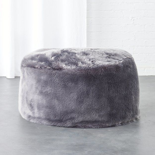 Prime Cb2 Faux Fur Grey Pouf Products White Faux Fur Throw Forskolin Free Trial Chair Design Images Forskolin Free Trialorg