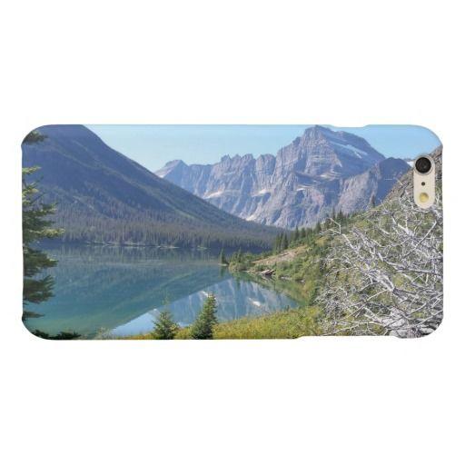 Bowman Lake Glacier National Park Matte iPhone 6 Plus Case