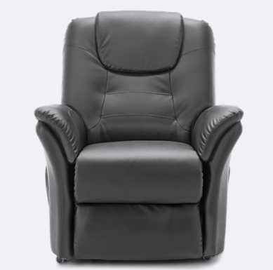 The Weybridge Riser Recliner (Black) is both a smart and