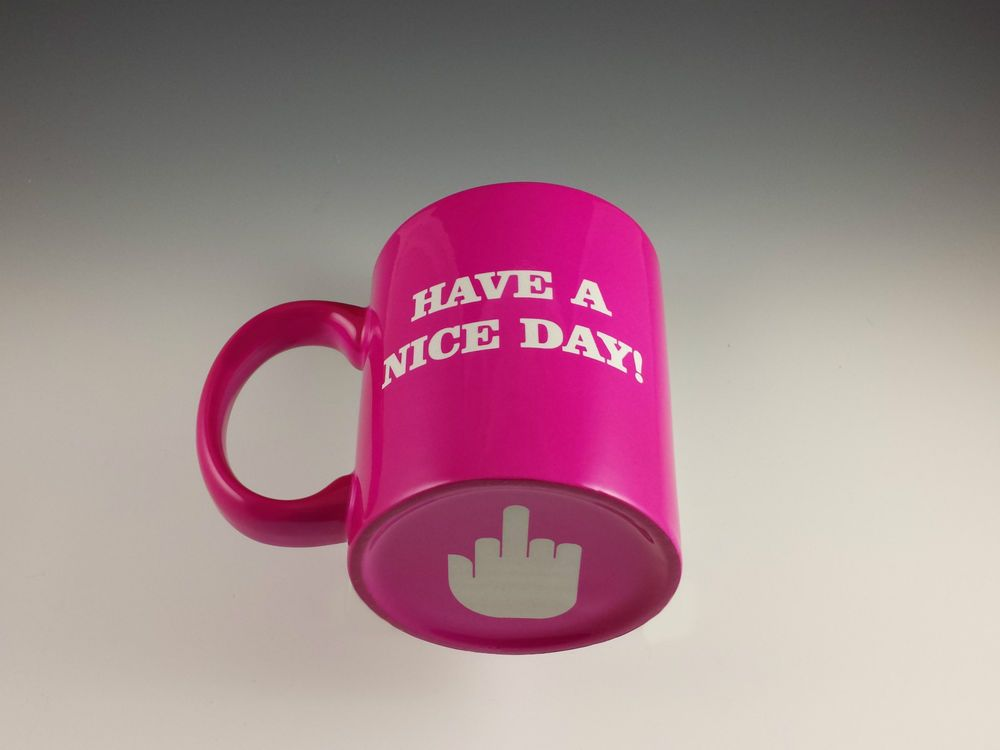 Image Result For Middle Finger Coffee Mug