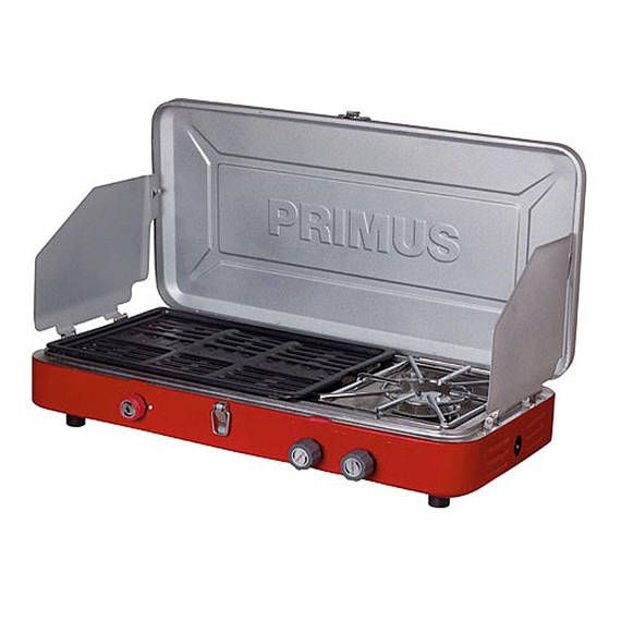 6ccda11d15f Primus Profile hiking camping Campground portable Stove Dual BBQ One Size  Primus Profile Duo Stove