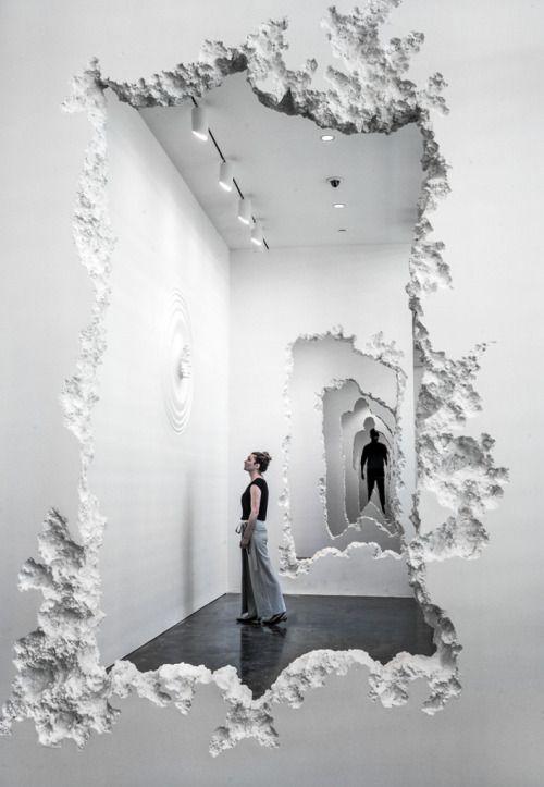 Daniel Arsham,The Future Was Then, 2016  Savannah College of Art and Design, Georgia, USA