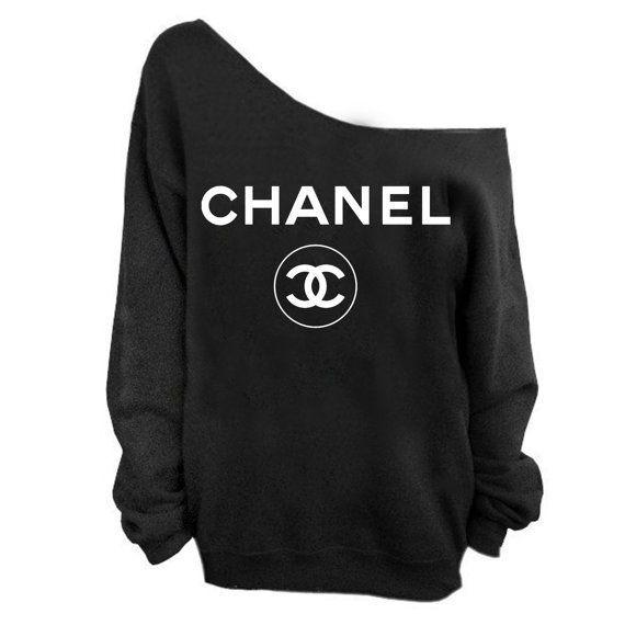 87c1b63a chanel t shirt. Eyeglasses for Women Over 50. Image result for chanel black  jumper white logo