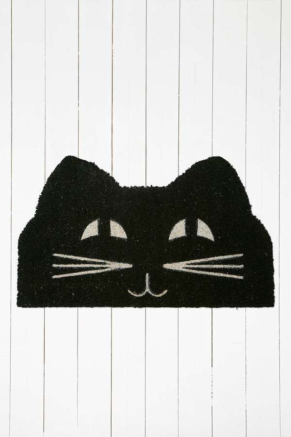 Cat Face Door Mat : door mates - pezcame.com