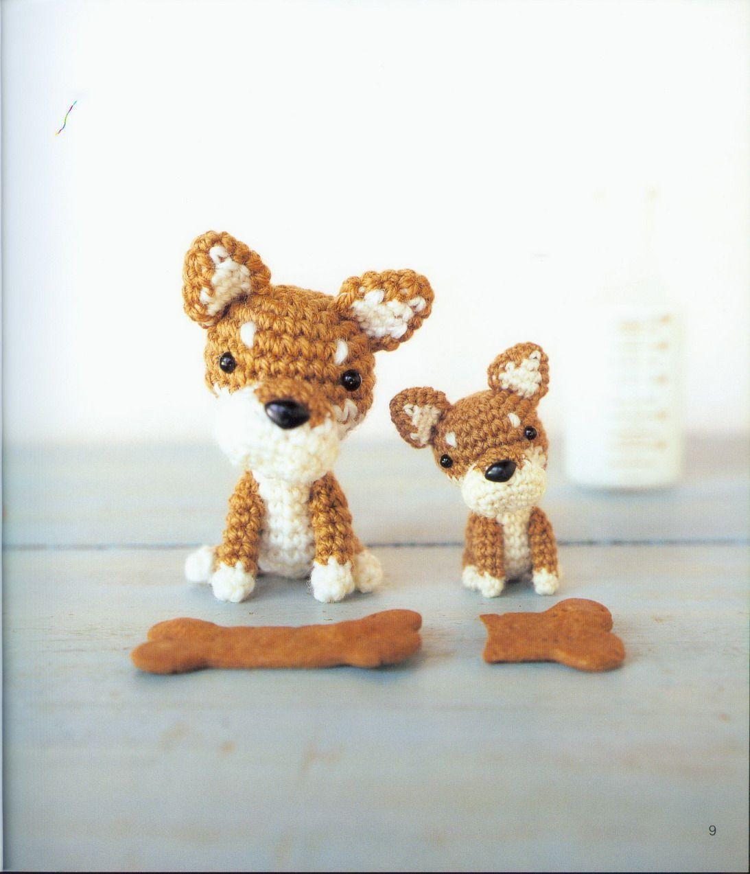หมาต วน อย Crochet Dog Cute Crafts Pet Toys