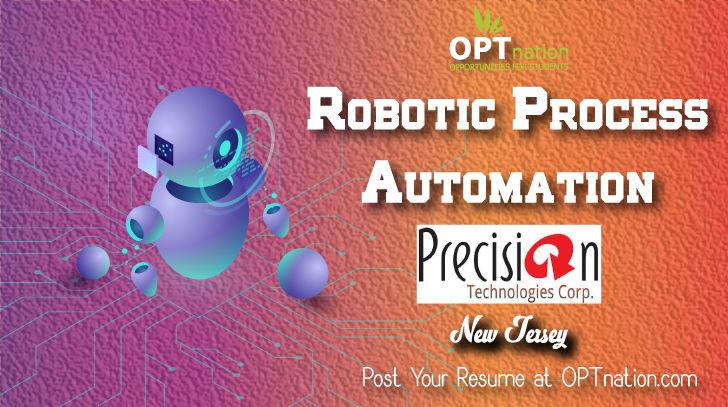 Robotic Process Automation Job In New Jersey Job Posting Job Job Seeker