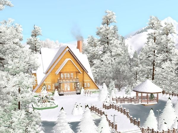 A Dream of Christmas Home II by chuvadeprata - Sims 3 Downloads CC Caboodle