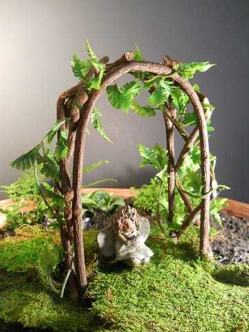 Ordinaire Freshly Cute Grape Vines Bend Easily. Iu0027ll Be Making This For My Fairy  Garden.