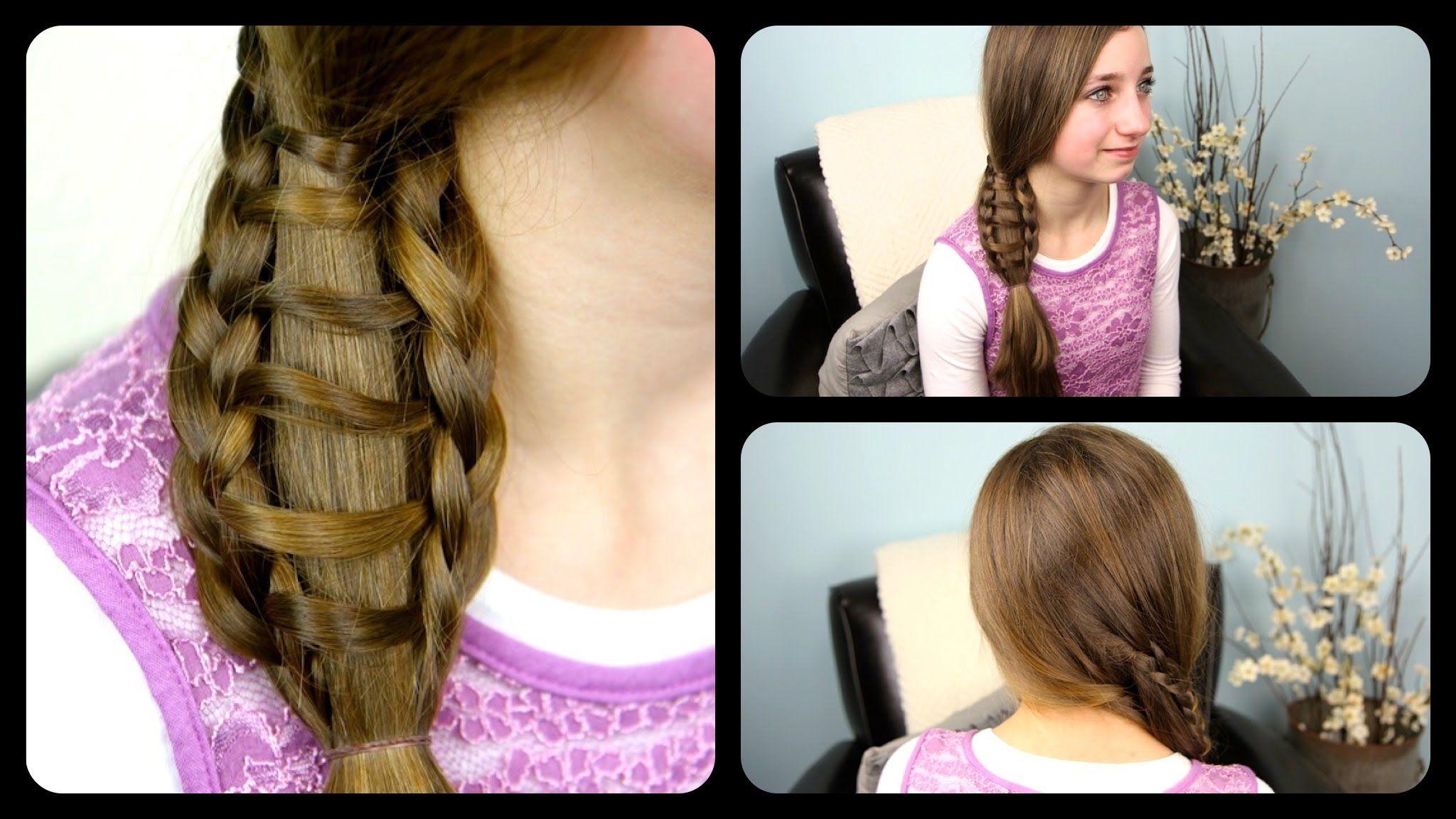 Prime Ladder Braid Side Ponytails And Ladder On Pinterest Short Hairstyles Gunalazisus