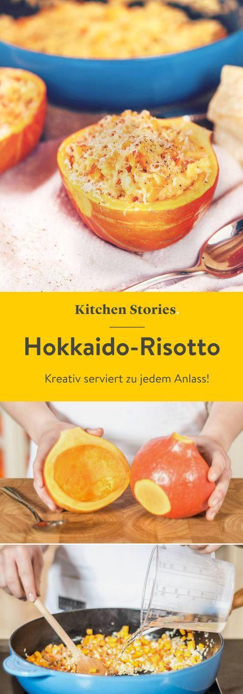 Hokkaido-Risotto #herbstgerichte