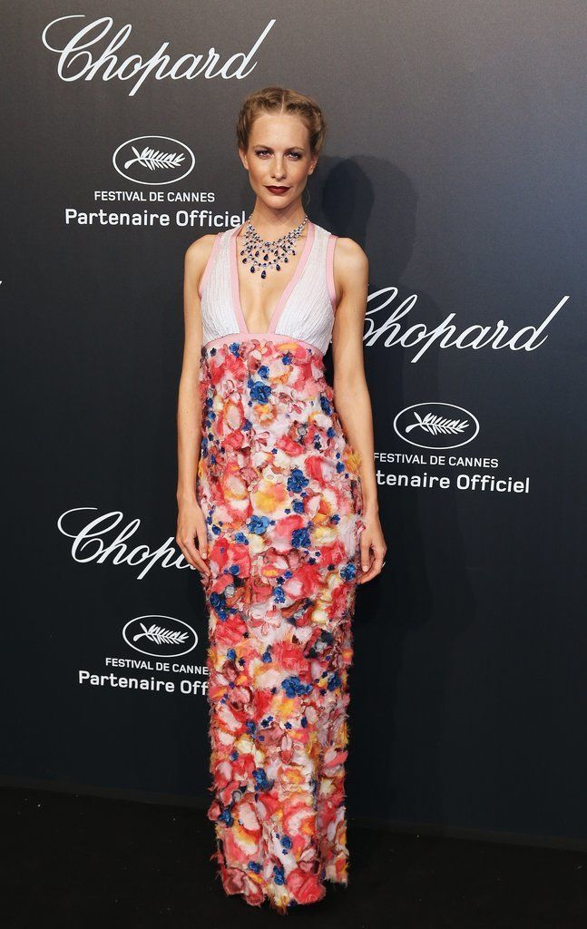 Poppy Delevingne in Chanel Cannes Film Festival 2015