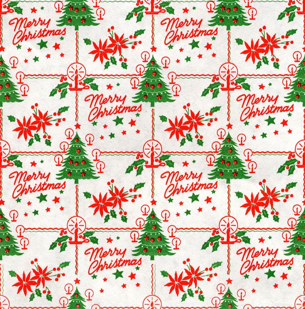 Vintage Christmas Gift Wrap Vintage Christmas Wrapping Paper Vintage Christmas Gifts Christmas Ephemera