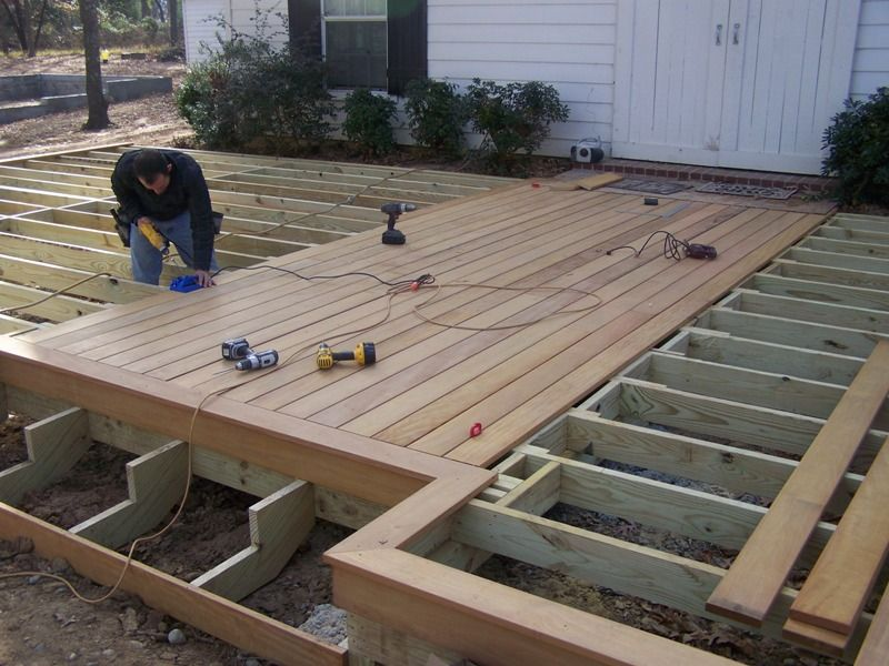 timber deck step construction - Google Search Deck in 2018