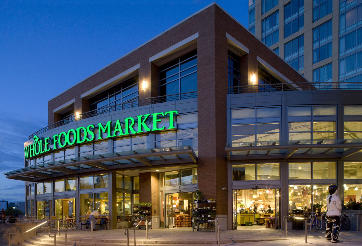 It is the first major urban grocery store in downtown