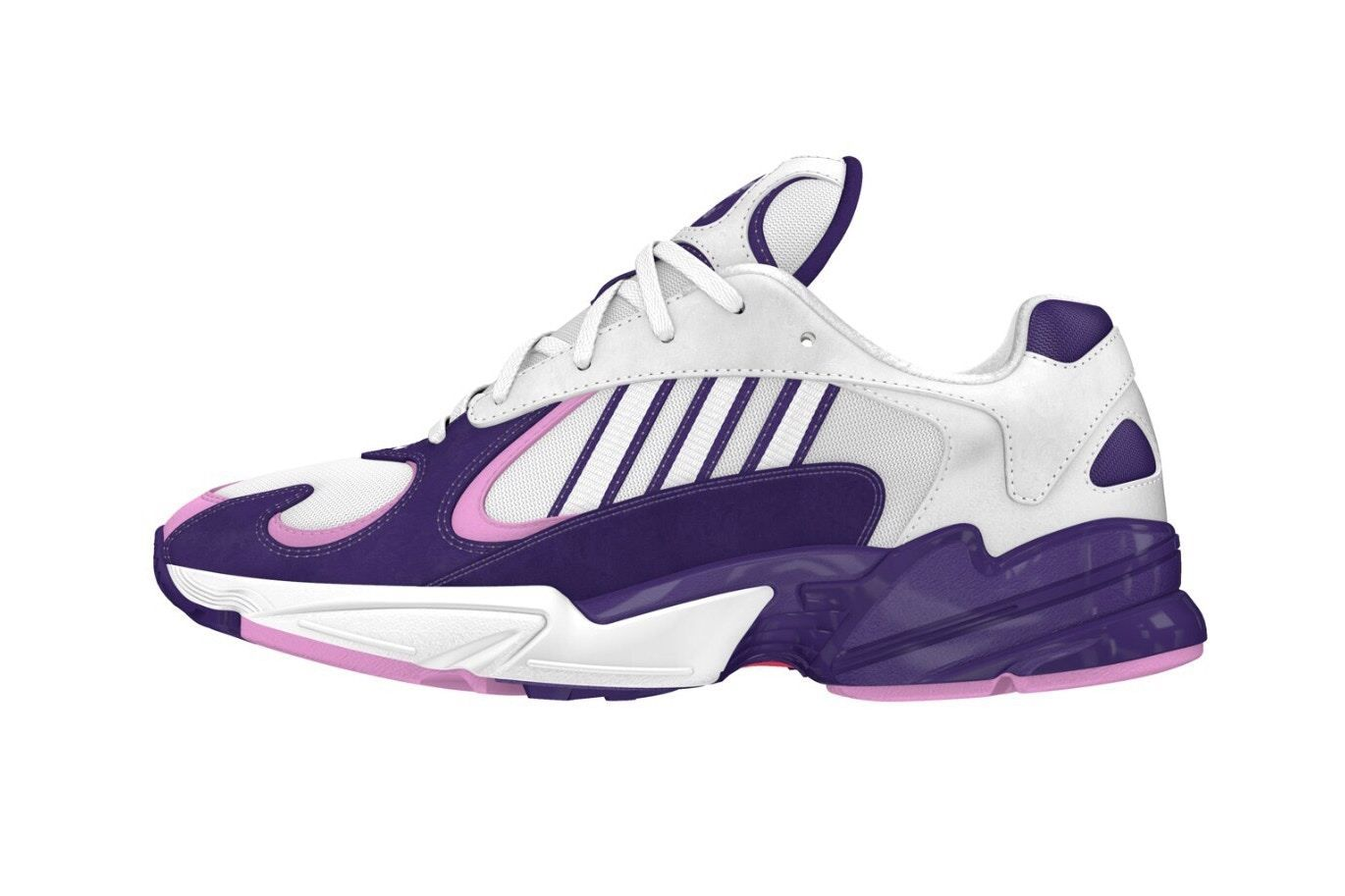 "e03abc9dc46 FYI  Dragonball Z x adidas – New Yung 1 im ""Frieza"" Colorway!  hypesrus   hypesrus"