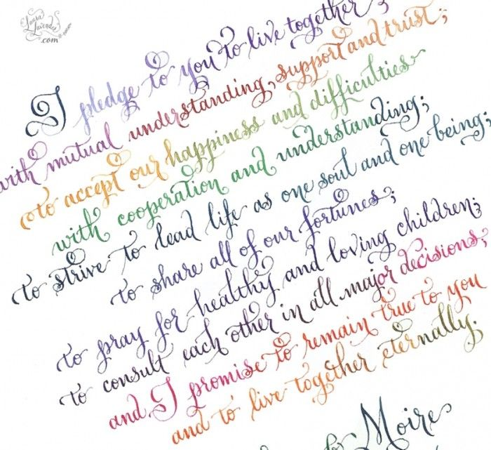 Write Your Wedding Vows on Your Own to Be More Personal & Romantic ...