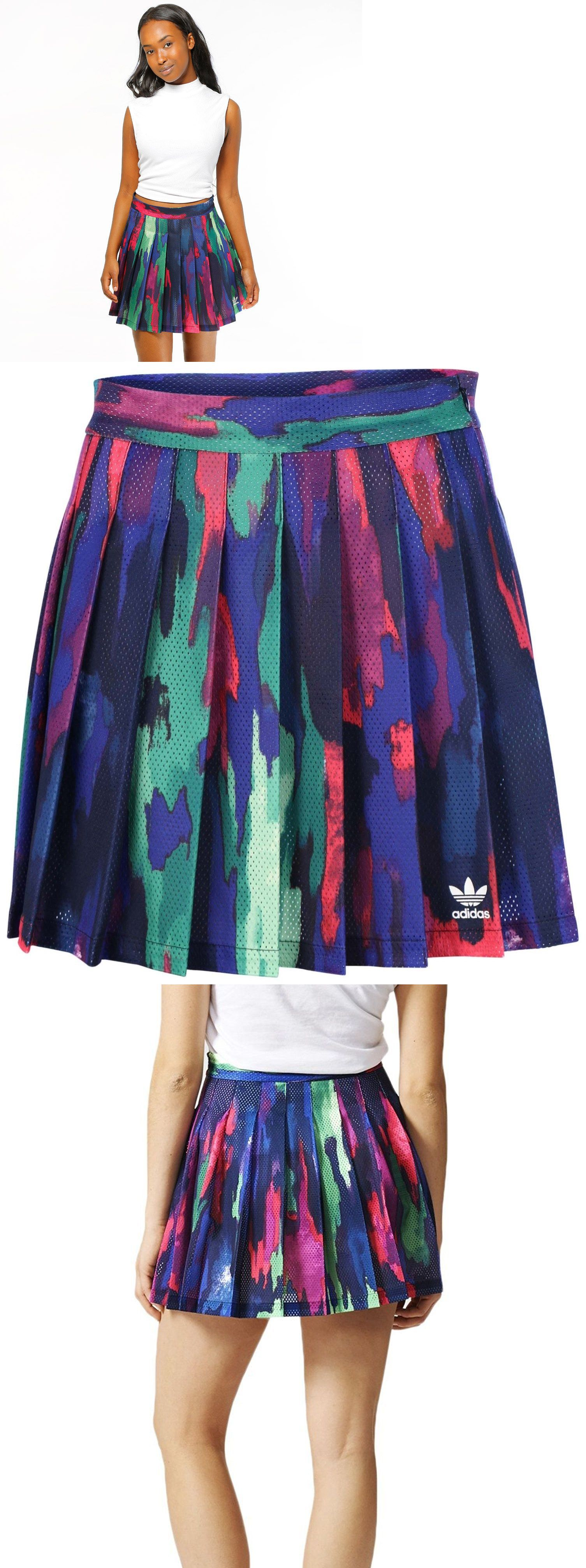 purchase cheap c25ef 8f8ca Skirts Skorts and Dresses 70901 Adidas Camo Tree Skirt Women S Tennis Pharrell  Williams Design