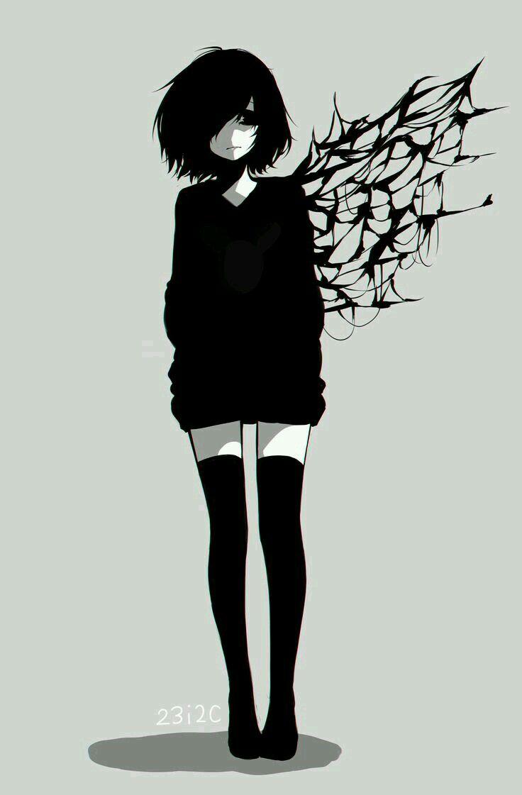 Sad Emo Girl Emo Anime Pinterest Tokyo Ghoul Anime And Manga