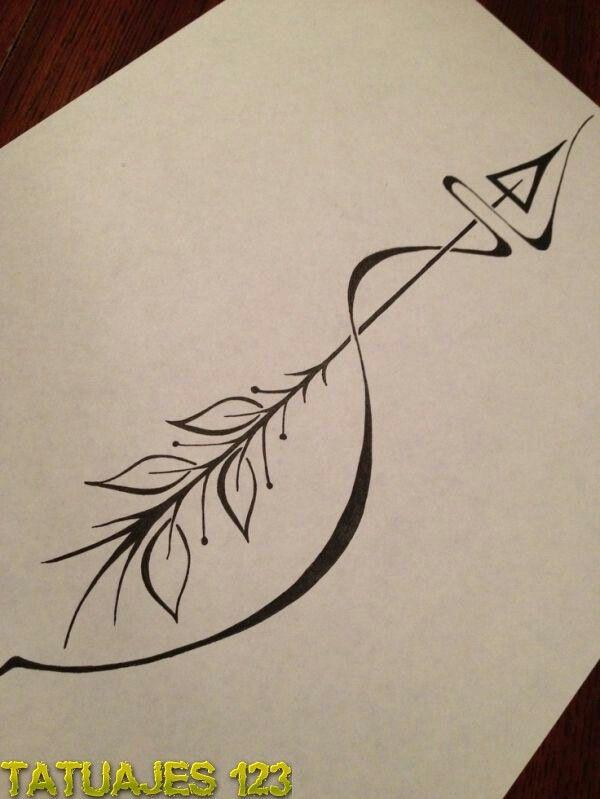 flecha tattoos pinterest tatouage tatouage. Black Bedroom Furniture Sets. Home Design Ideas