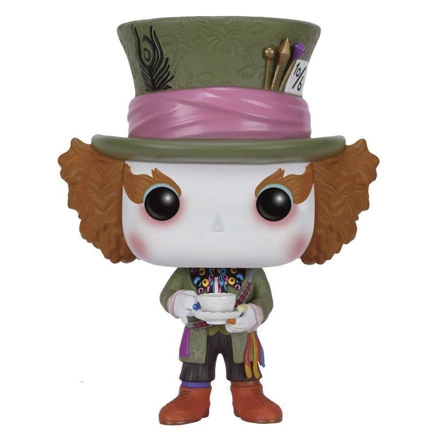 Statuetta decorativa Mad Hatter del brand #Funko collezione Pop!. Altezza: 10 cm circa.