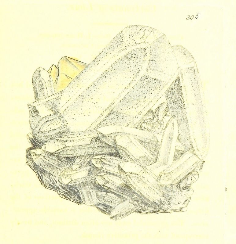 Image taken from page 57 of 'British Mineralogy: or coloured figures intended to elucidate the mineralogy of Great Britain. By J. Sowerby (with assistance). F.P'   by The British Library