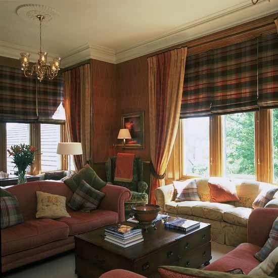 Tartan Highlights Living Room