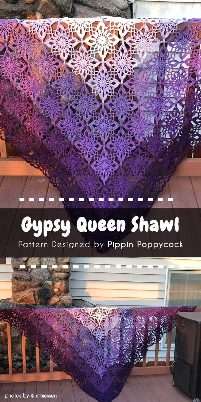 Gypsy Queen Shawl