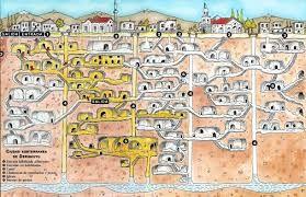 Risultati immagini per cappadocia turchia citta sotterranea
