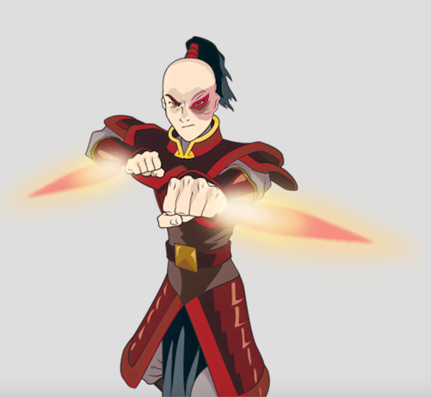 Prince Zuko And His Fire Flamed Daggers From Avatar The Last Airbender