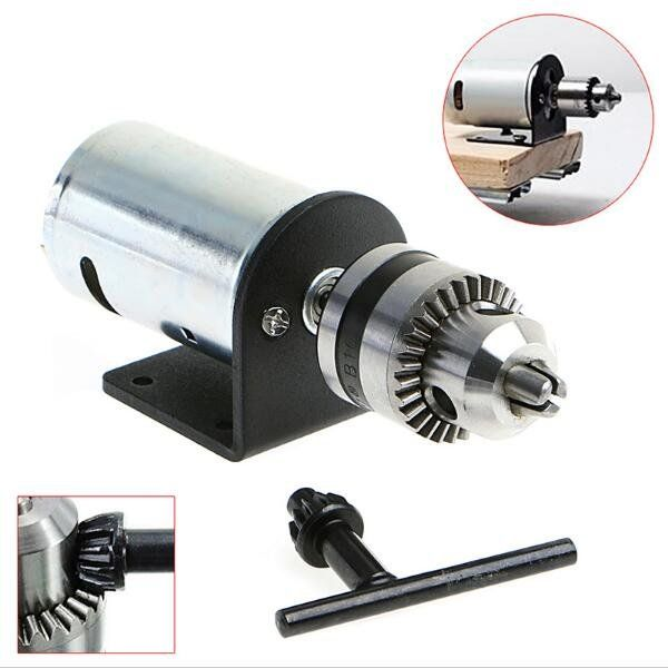 Us 13 80 34 Dc 12 36v Lathe Press 555 Motor With Miniature Hand