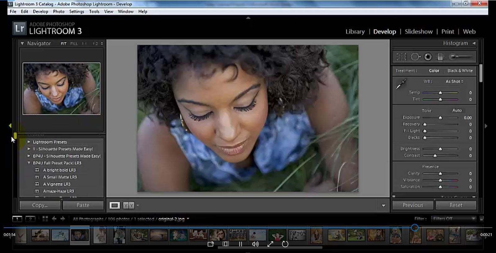 Learn how to Import Presets in Lightroom Photography