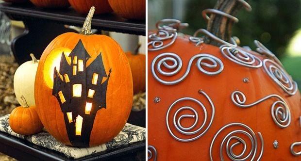 dco diy pour halloween 2 - Decoration Citrouille Pour Halloween