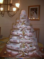 Hubsche Torte Aus Toilettenpapier Hochzeit Pinterest Wedding