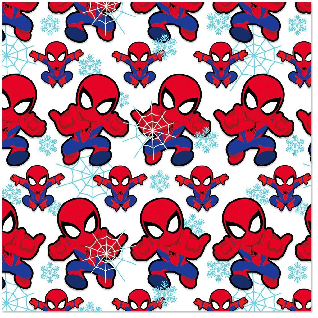 Spiderman Kids Watercolor Clipart Custom Sticker