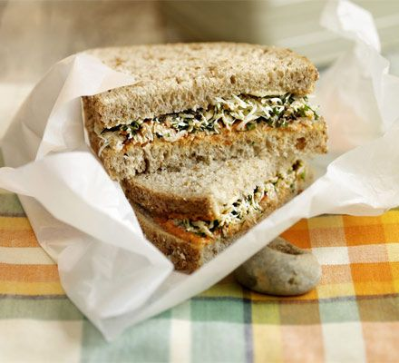 Best-ever crab sandwiches. A classic crab sandwich made a bit more substantial with a few of Barney's favourite flavours.