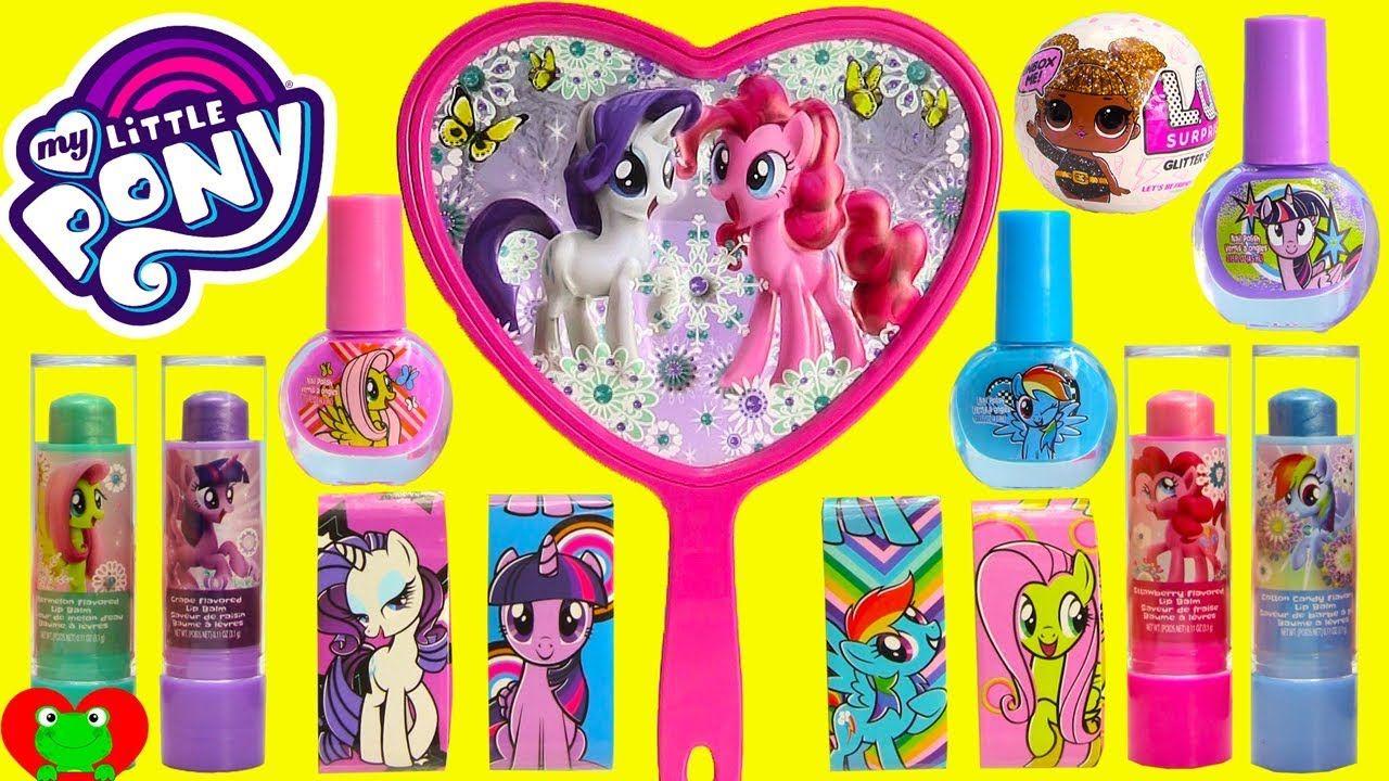 My Little Pony Cosmetics Lip Balm LOL Glitter Surprise