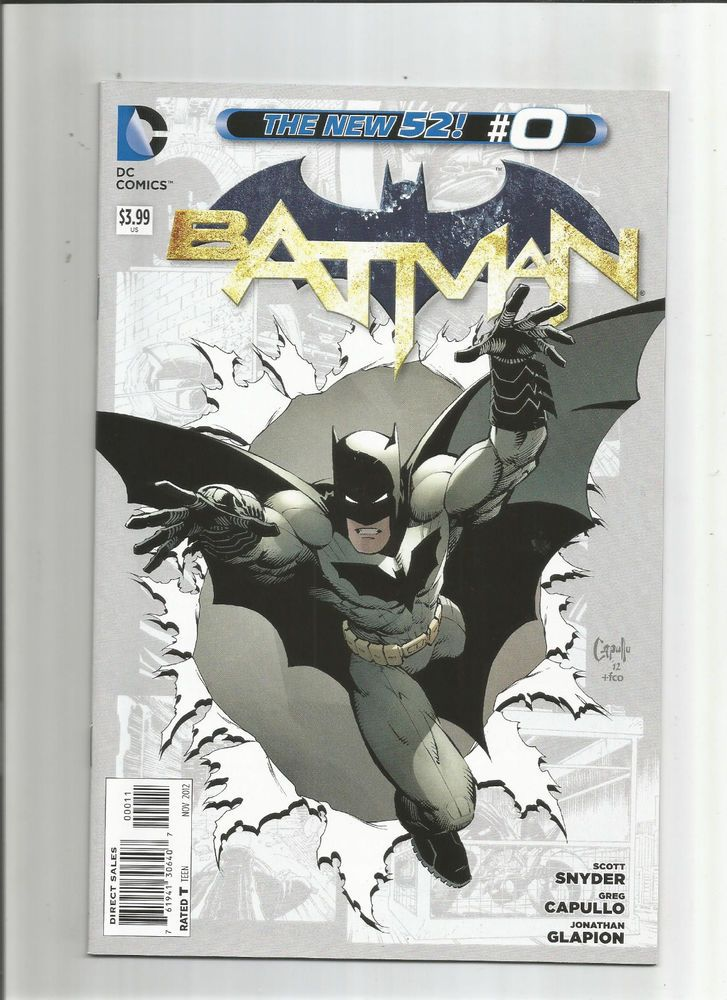 batman v2 0 fantastic first print modern age find from dc nm