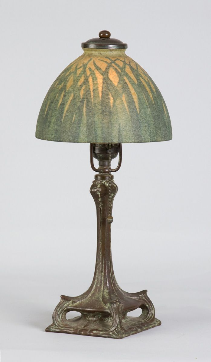 handel lamp | 86 - Sgn. Handel Boudoir Lamp | arts and crafts ...